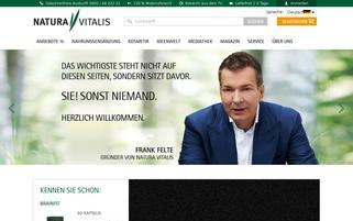 Natura Vitalis Webseiten Screenshot