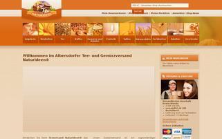 Naturideen Webseiten Screenshot