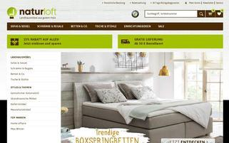 naturloft Webseiten Screenshot