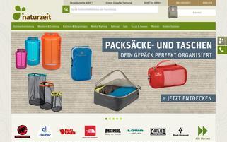naturzeit Webseiten Screenshot