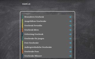 naumi.cc Webseiten Screenshot