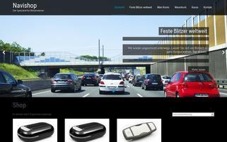 Navishop Webseiten Screenshot