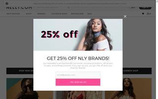 Nelly.at Webseiten Screenshot
