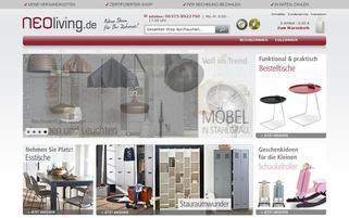 NEOliving Webseiten Screenshot