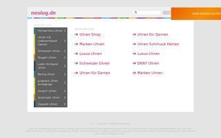 Neolog Webseiten Screenshot