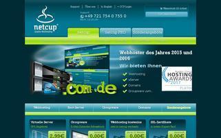 Netcup Webseiten Screenshot