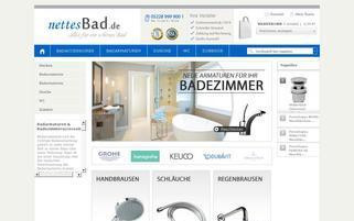 Nettes Bad Webseiten Screenshot