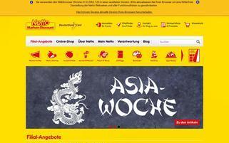 Netto Webseiten Screenshot