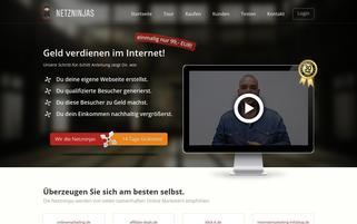 Netzninjas Webseiten Screenshot