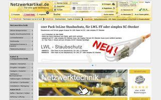 netzwerkartikel.de Webseiten Screenshot