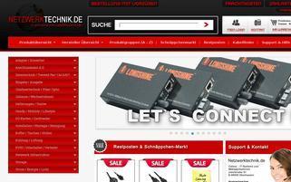 Netzwerktechnik.de Webseiten Screenshot