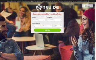 Neu.de Webseiten Screenshot