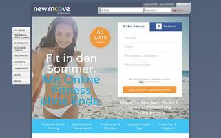 newmoove Webseiten Screenshot