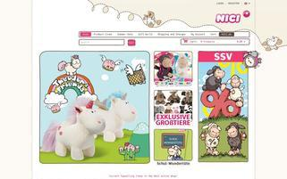 NICI Webseiten Screenshot