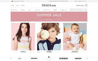 Nickis Webseiten Screenshot
