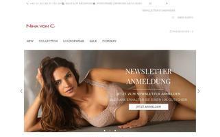 Nina von C. Webseiten Screenshot