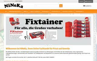 NiNeKa Webseiten Screenshot