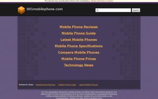 NO1Phone Webseiten Screenshot