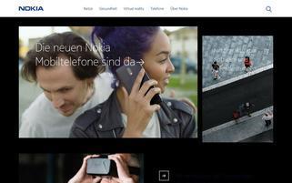 nokia.de Webseiten Screenshot