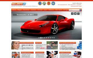 NoLimits24 Webseiten Screenshot