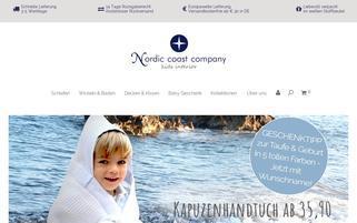 nordiccoastcompany.de Webseiten Screenshot