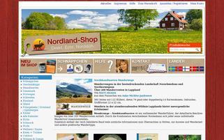 Nordland Shop Webseiten Screenshot
