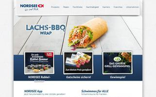 Nordsee Webseiten Screenshot