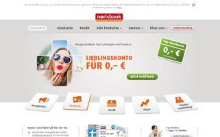 Norisbank Webseiten Screenshot