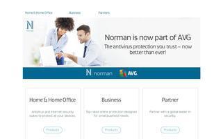 NORMAN Webseiten Screenshot