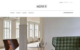 Norr11 Webseiten Screenshot