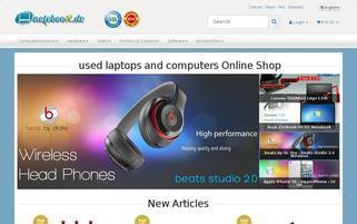 Noteboox Webseiten Screenshot