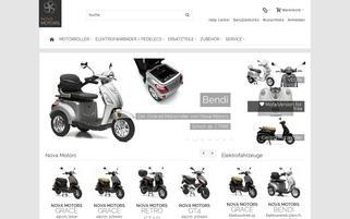 Nova Motors Webseiten Screenshot