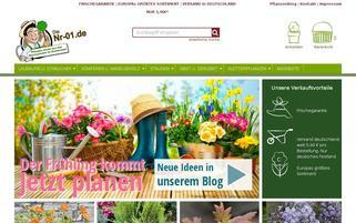 nr-01.de Webseiten Screenshot