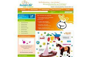 Nunon Webseiten Screenshot