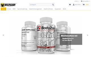 nutrition-discount.de Webseiten Screenshot