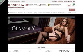 nylons-strumpfhosen-shop.de Webseiten Screenshot