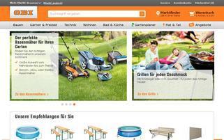 Obi.at Webseiten Screenshot