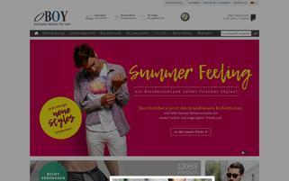 oboy.de Webseiten Screenshot