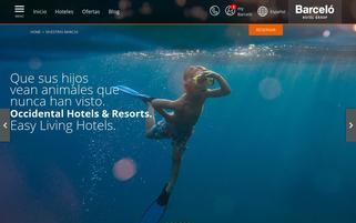 Occidental Hotels Webseiten Screenshot