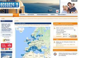 Ocean24 Webseiten Screenshot