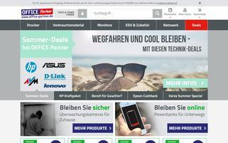 Office Partner Webseiten Screenshot