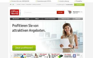 Office World Webseiten Screenshot