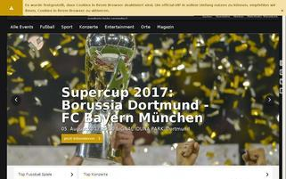 official-VIP Webseiten Screenshot