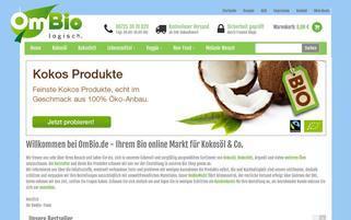 Ombio Webseiten Screenshot