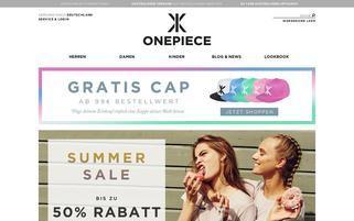 OnePiece Webseiten Screenshot