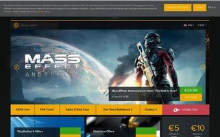 OnlineKeyStore Webseiten Screenshot