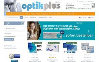 Optikplus Webseiten Screenshot