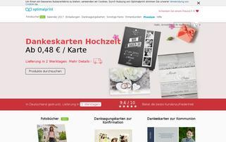 Optimalprint Webseiten Screenshot