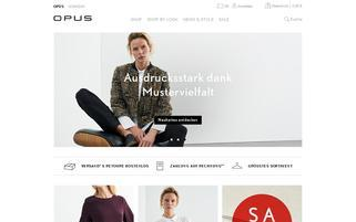 Opus Webseiten Screenshot