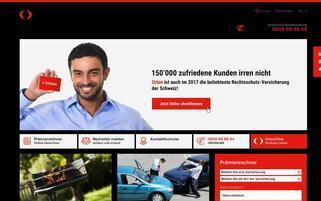 Orion Schweiz Webseiten Screenshot